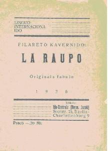 La Raupo, Deckblatt